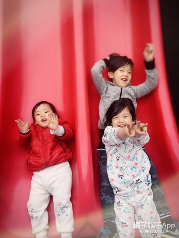 别只顾着萌泡芙,其实刘畊宏家的3个小孩都长得一模一样!