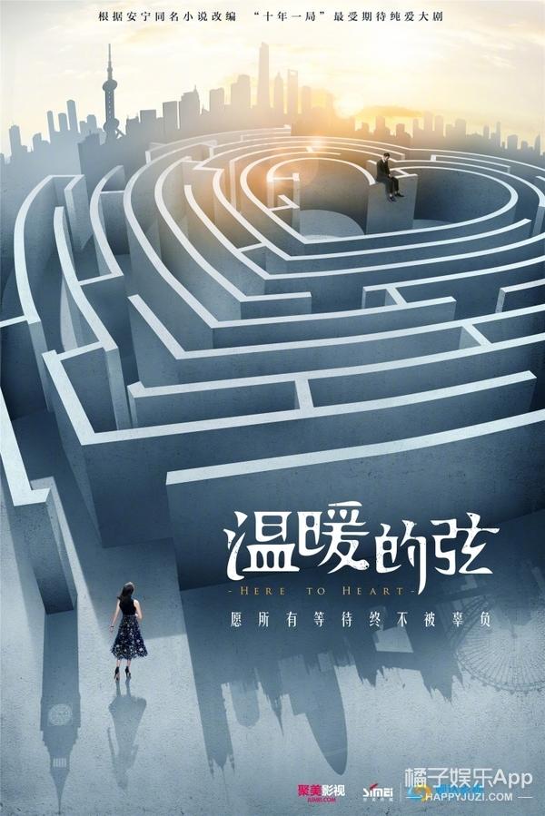 《温暖的弦》再曝海报,这次的霸道总裁张翰有点不一样!