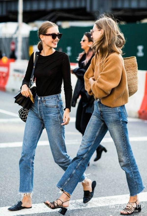 """日新月异的时代牛仔裤都悄悄""""变身了"""",今年的流行你""""造""""吗~"""