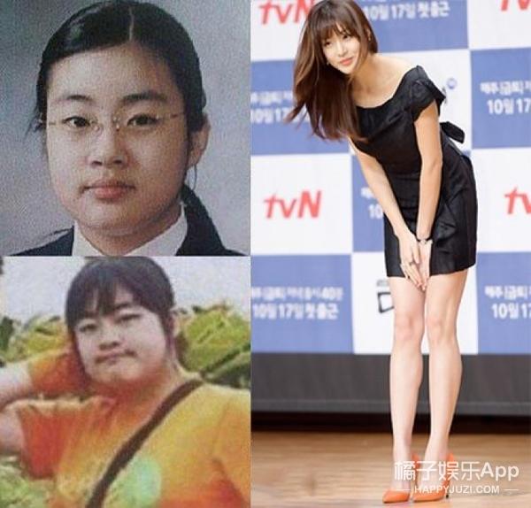 看完韩国这8位女艺人减肥前后的对比照,我想拜她们为师!