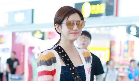 陈妍希把彩虹穿在了身上,少女值满格