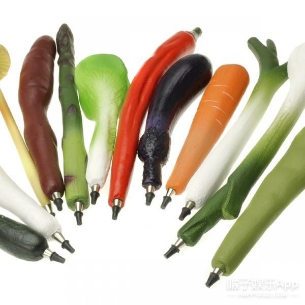 酸酸甜甜的蔬菜水果文具来啦,款式多到都想带回家~