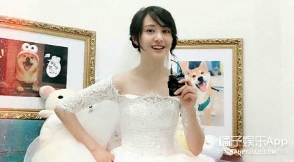 郑爽穿婚纱录节目,这个老婆是我的!