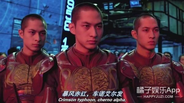 景甜《环太平洋2》开机甲打怪兽!网友:来自东方的神秘力量