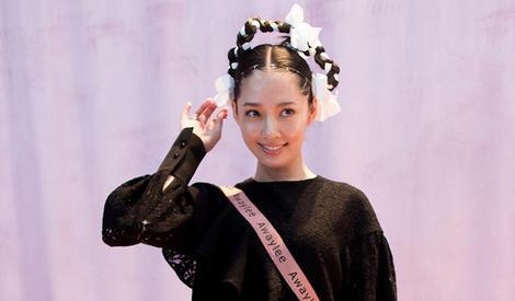 郭碧婷助阵上海时装周,这个造型你给几分