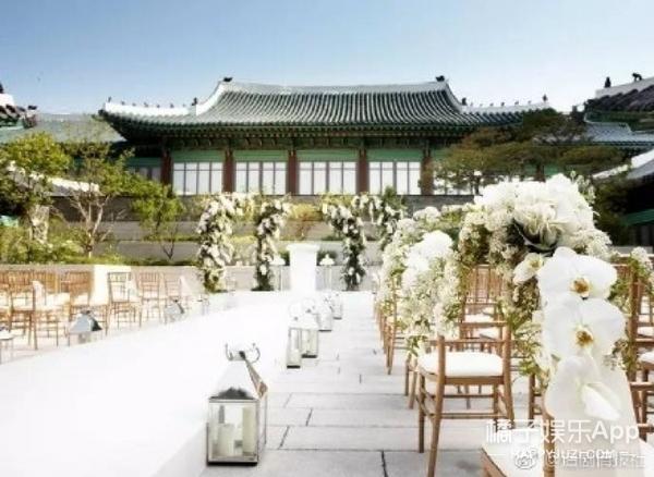 宋仲基宋慧乔婚礼场地曝光,原来韩国顶尖艺人都是在这儿结的婚