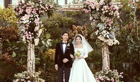 双宋夫妇婚纱照曝光啦,文艺温馨一定是想骗我结婚