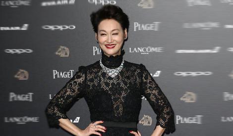 第54届台湾电影金马奖红毯,小s献吻康永哥