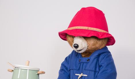 敲可爱的帕丁顿熊来给橘子君做果酱啦~