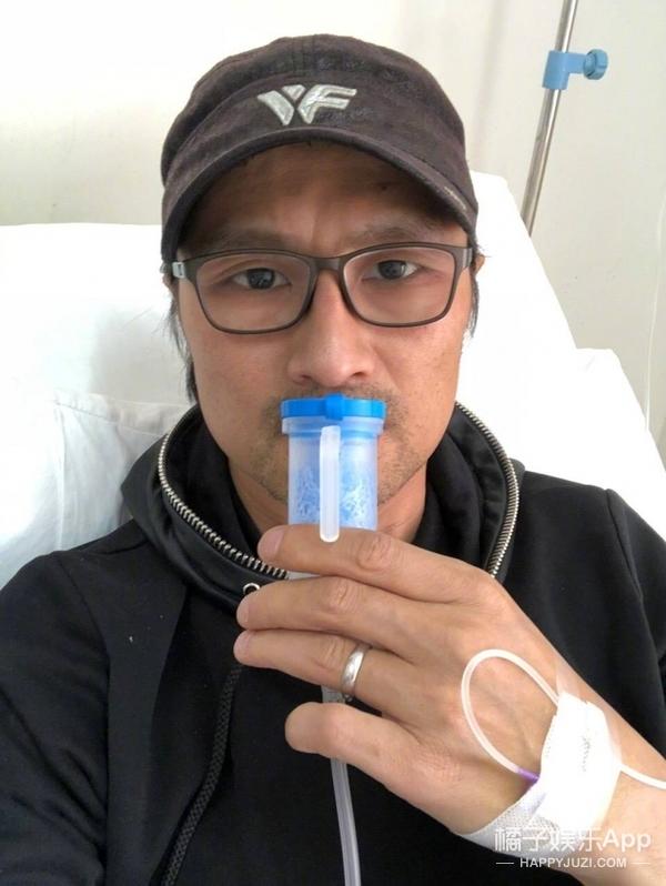 汪峰生病输液狂打嗝,章子怡调侃:中国有嗝哈
