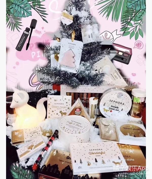 小银狐圣诞眼影盘,带你走进奇趣美妆仙境。