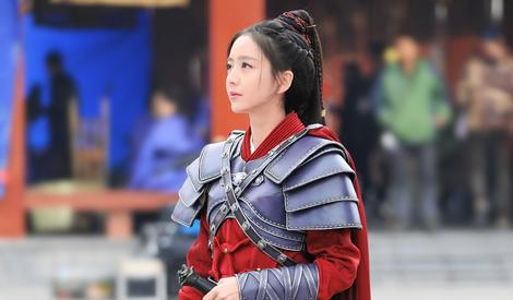 佟丽娅第一次演女将军,下次还想挑战皇后