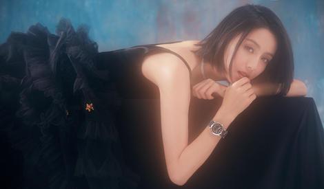 佟丽娅羽化为魅惑黑天鹅,真正的静谧如画