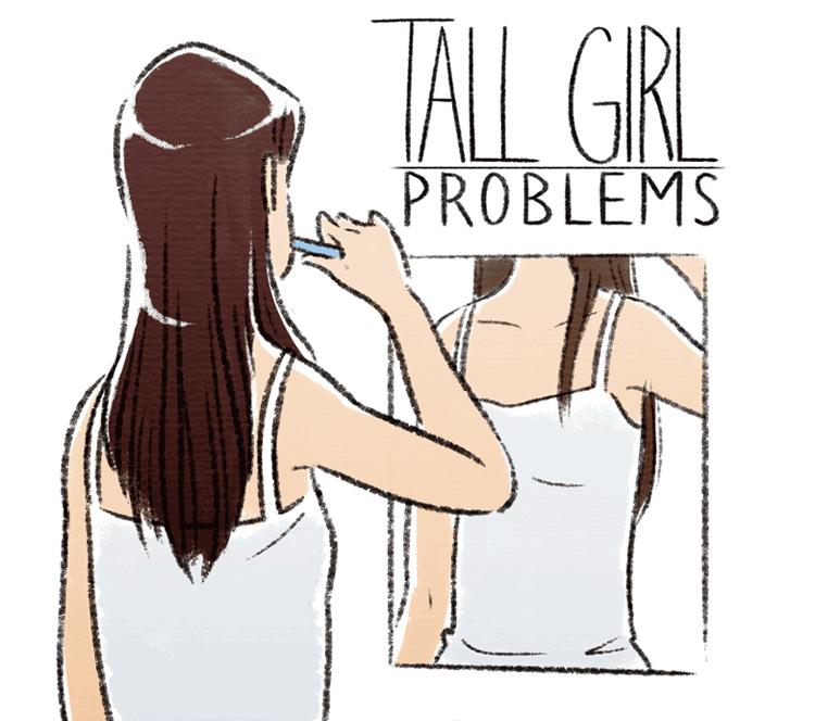 史上最全:高个女孩常遇到的32个烦恼