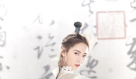 陈钰琪饰演新版赵敏,美丽中更带三分英气三分豪态