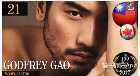 2018年全球最帅面孔,中国目前上榜的只有他?!