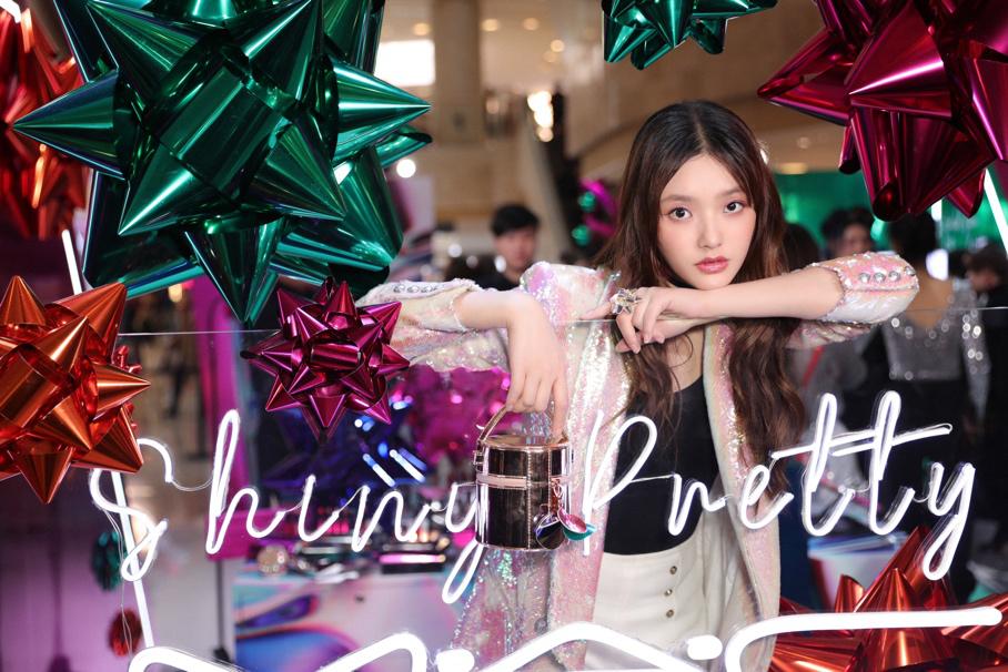 M·A·C魅可中国区品牌大使林允亮相金陵,开启闪耀派对