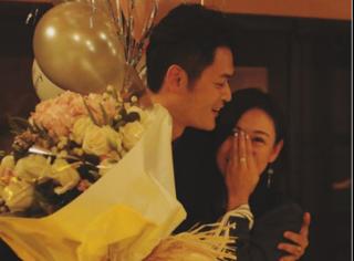 江若琳被求婚,甜蜜应答:余生请你指教