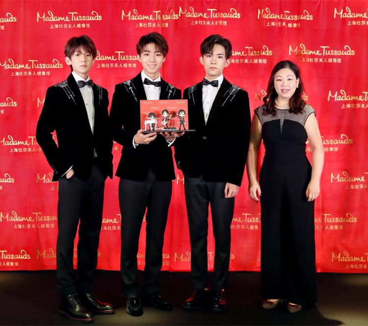 TFBOYS入驻上海杜莎夫人蜡像馆,五周年开启无限可能