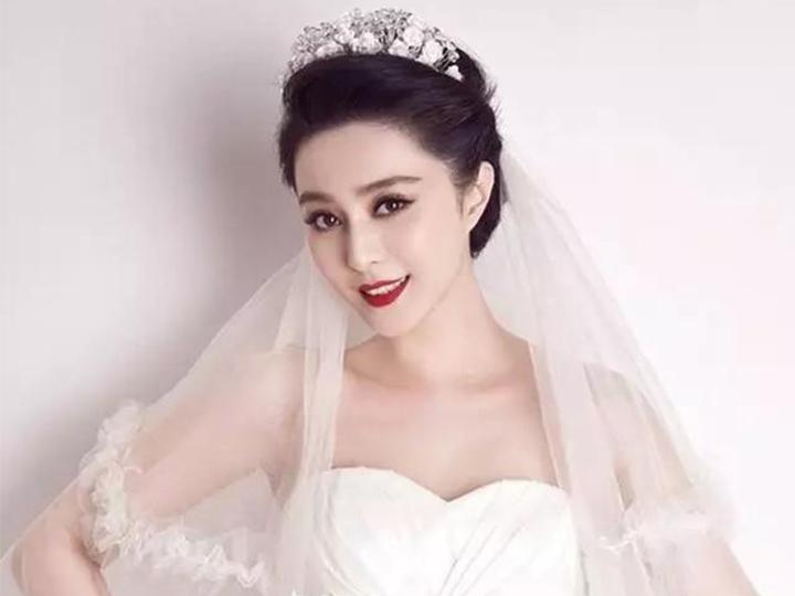 范冰冰李晨的婚纱照曝光?简直美哭了!