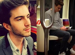 忘掉腐国地铁帅哥吧 更高逼格的巴黎地铁哥哥来了
