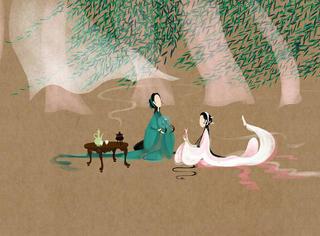 当电影《青蛇》变成古画,美得让人想哭