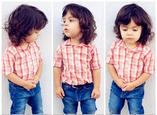 他从2岁开始打扮,现在是英国最火的潮人