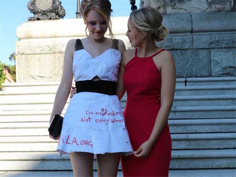 毕业季 | 参加毕业舞会,她把数学卷子披到了身上