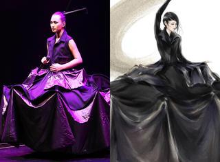 全球首穿秀场直运 周笔畅价值240万的裙子到底什么样