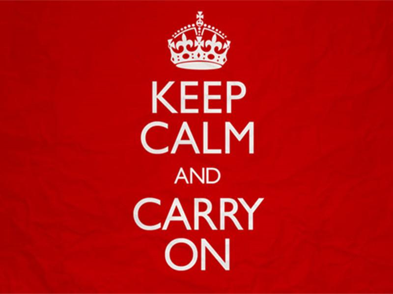 很多人都不知道超流行的Keep Calm标语竟然来自二战!