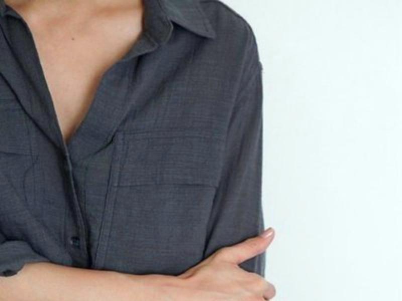 能把衬衫穿出味道的平胸女神