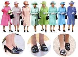 """""""超长待机""""英女王,比她待机时间还长的是这双""""女王鞋"""""""