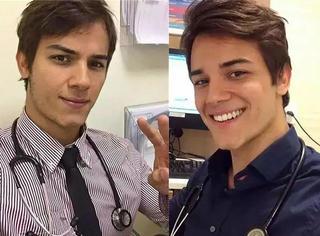 巴西神经内科医生爆红网络 妹子们都想成为他胸前的听诊器