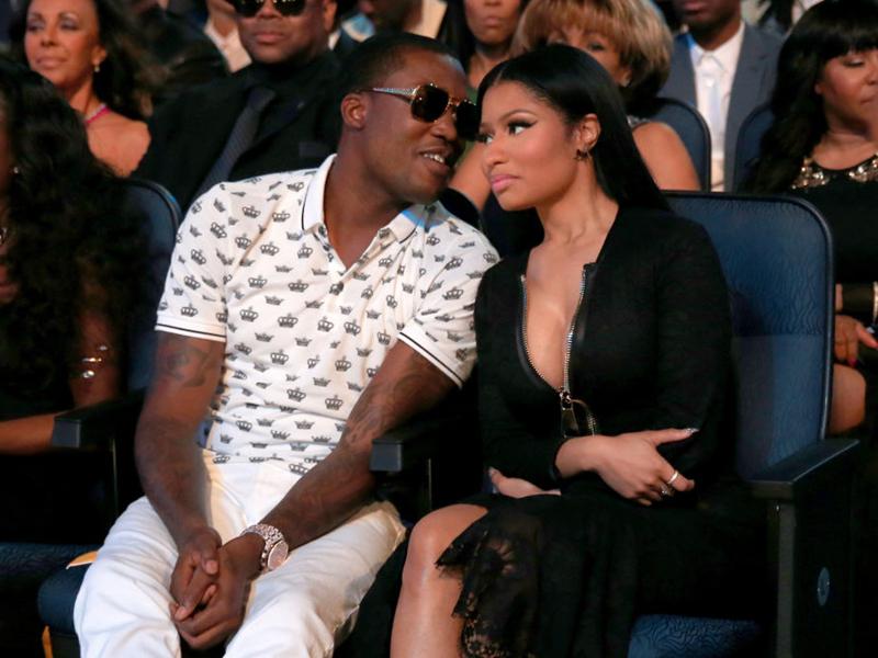 Meek Mill & Nicki Minaj:今夜他们是全世界最令人艳羡的黑人情侣