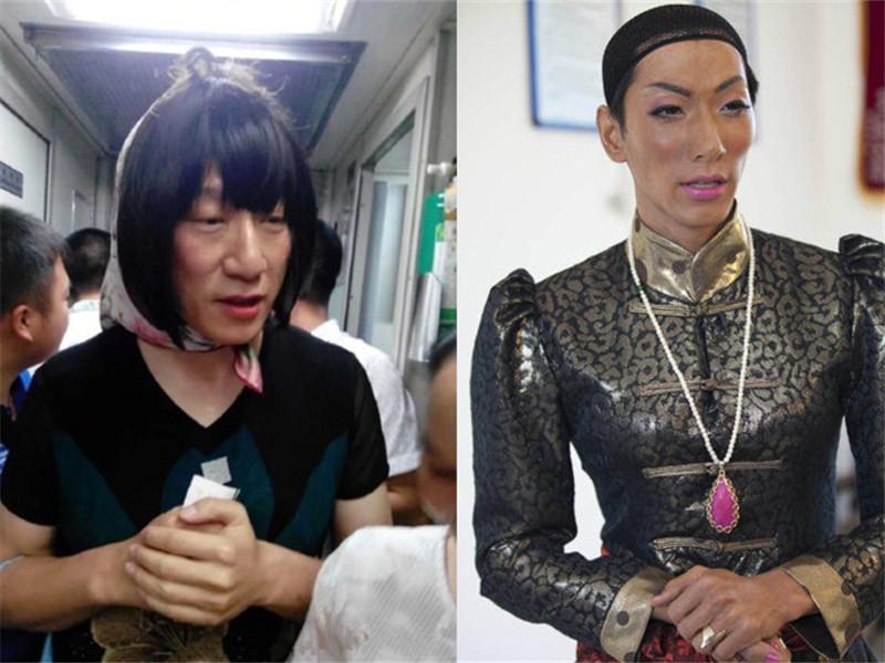 当男星在综艺里扮女装  孙红雷和张亮一定上辈子是姐妹