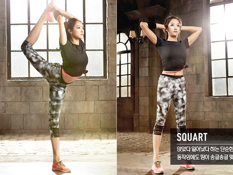拍完Adidas广告 宋茜定义了健康美女的新标准
