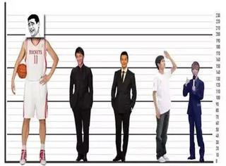 平均身高出炉,我感觉我是个巨人!