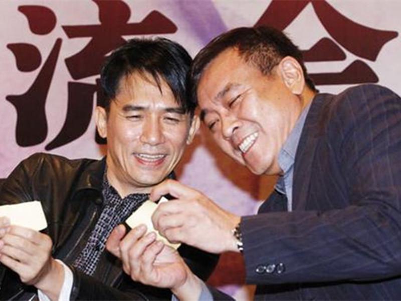 梁朝伟&尔冬升:长得好看又有才华的人最喜欢一起玩耍了