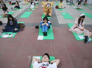 北京办首届发呆大赛 来看看选手们的神表情