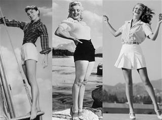 你也可以穿成经典 学赫本梦露用高腰短裤穿出复古风