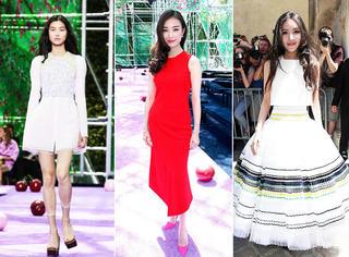 巴黎高定秀 | Dior高定秀场的这些中国面孔