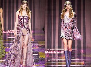 巴黎高定秀 | Atelier Versace 一半仙女一半妖