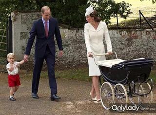 有其父必有其子 乔治小王子和爹威廉王子的对比