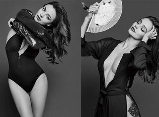 舔屏 | 米兰达·可儿:首登中国封面大片 全球最美好的肉体来了!