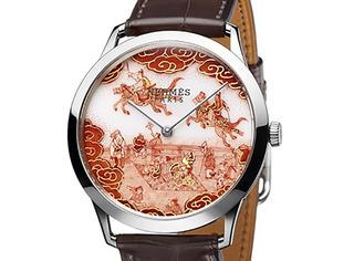 爱马仕出的价值37万人民币的新手表 凭啥这么贵