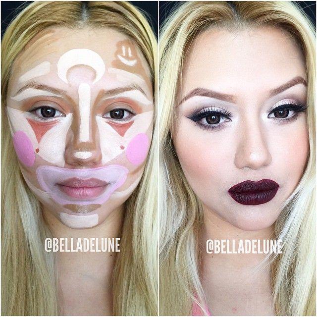 逆天的小丑化妆法 你一定要学会了出去显摆!