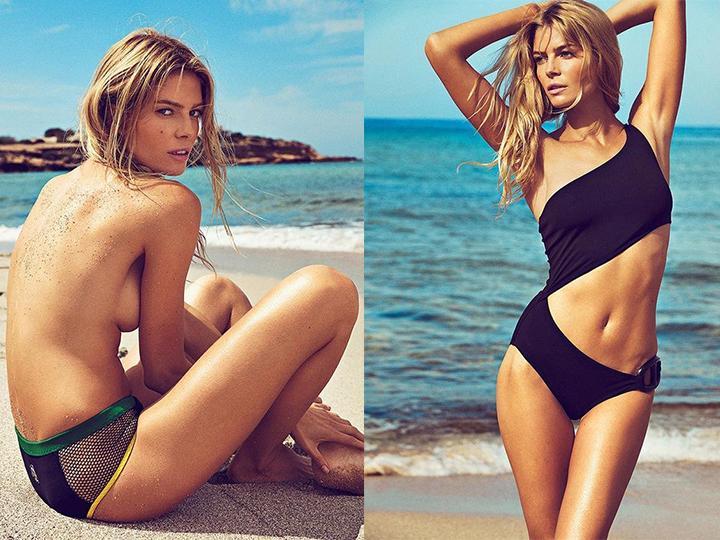 舔屏 | 名模Cristina Tosio:在阳光沙滩翻滚的美好肉体