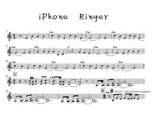 听了那么久的iPhone铃声 今天终于听到完整版