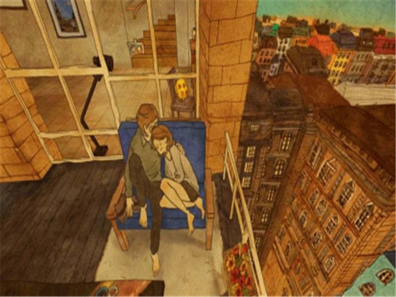 韩国最暖心的动画短片《Love is》,感动了全世界