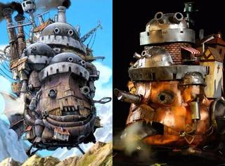 见过那么多Cosplay 你见过COS真正的哈尔移动城堡吗